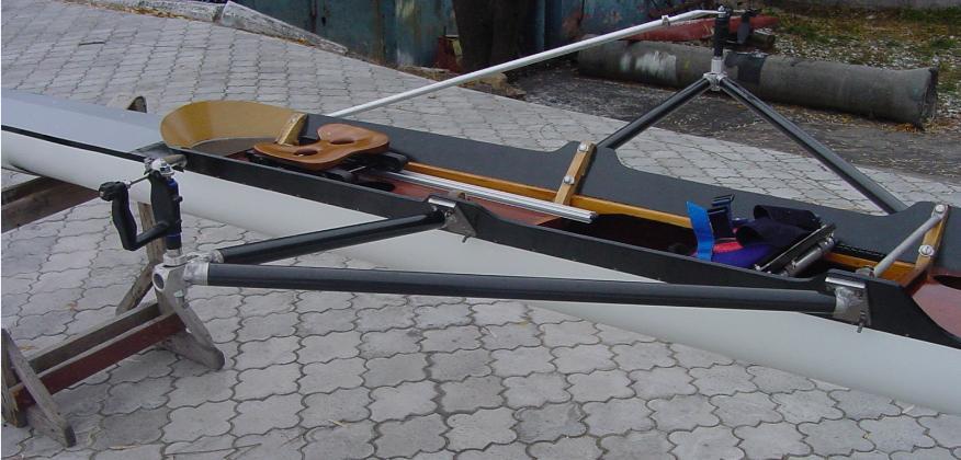 академическая гребля весла и лодки
